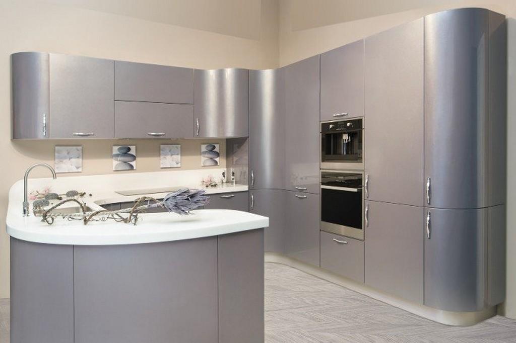 кухни серебристый металлик фото знаю, как оценить